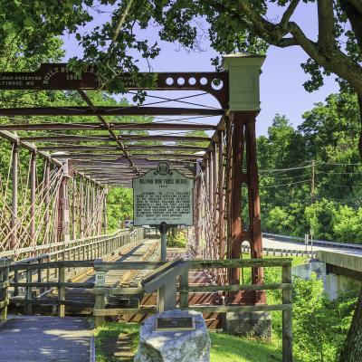 Bollman Truss Railroad Bridge at Savage Mill 2