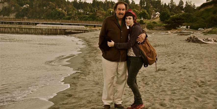Gabrielle Savoy and Her Father Marc