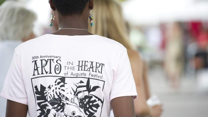 Arts in the Heart shirt