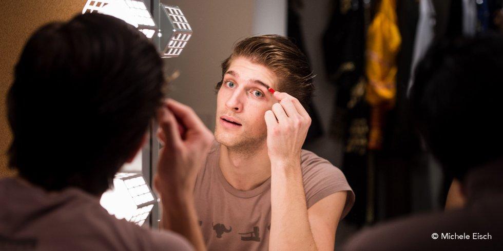 Nutcracker: Dancer Applying Makeup