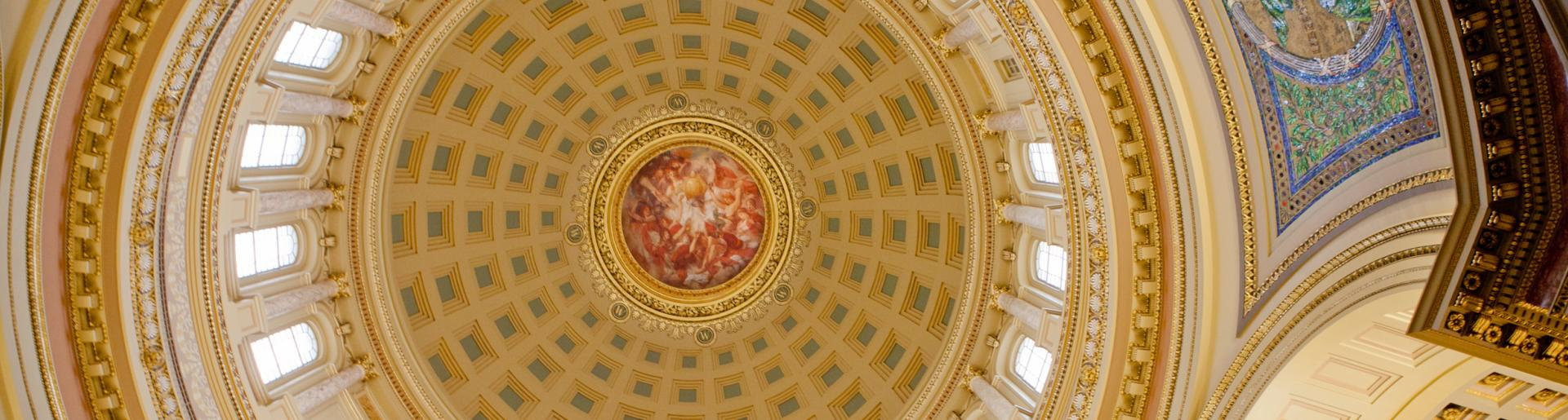 Interior of State Capitol Dome