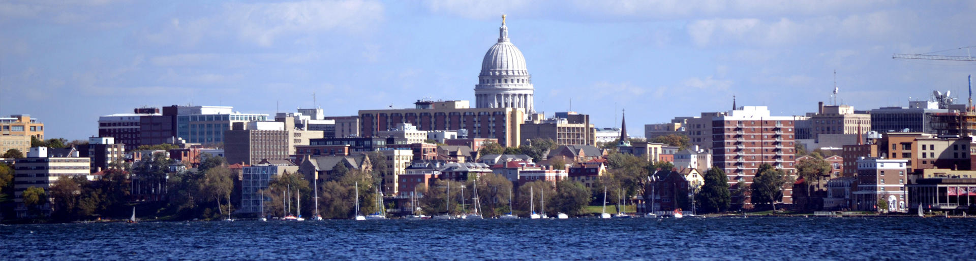Madison Skyline-Lake Mendota