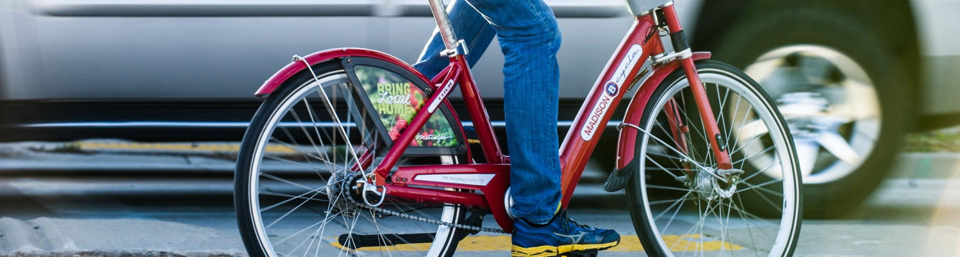 BCycle Red Bike