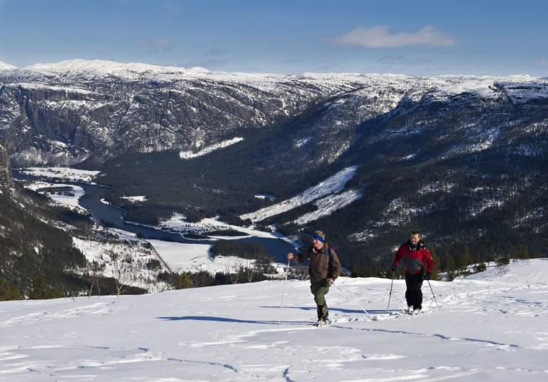 Mountain plateau Brokke in Valle