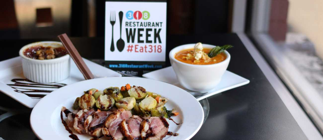 A promo photo for 318 Restaurant Week