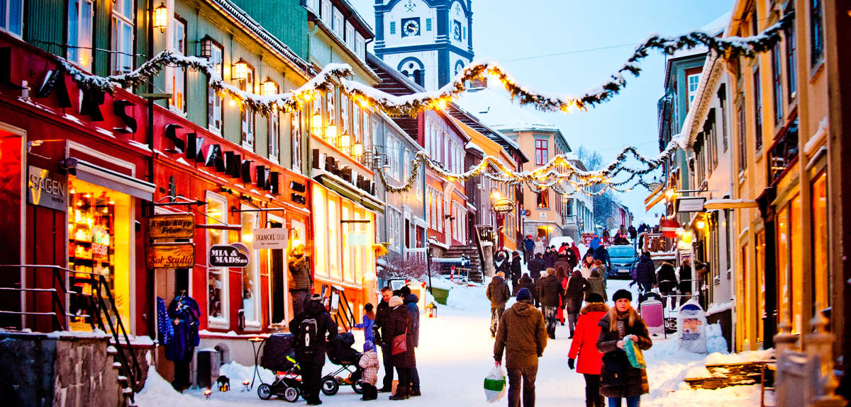 Reine, Norway for christmas celebration