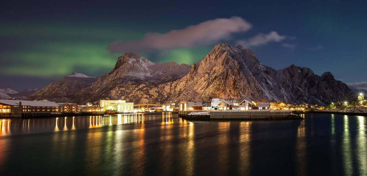 Northern Lights In The Lofoten Islands Official Travel