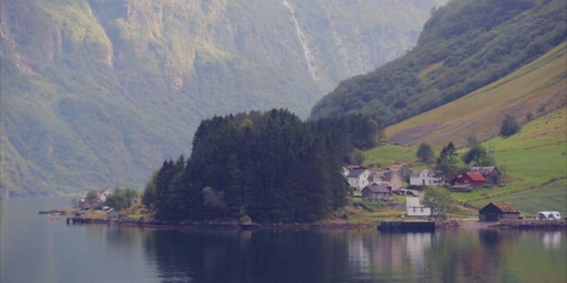 Nærøyfjorden nature