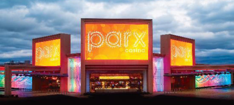 Parx casino building hotel