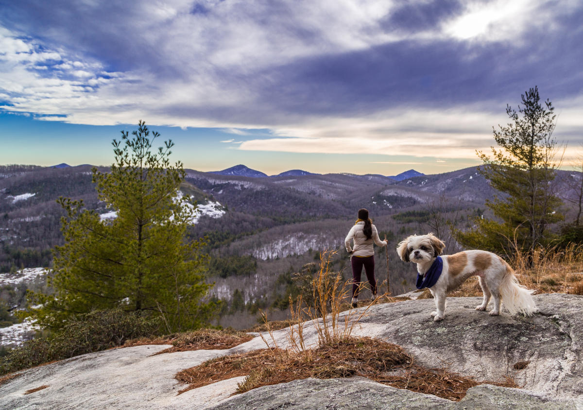 Warm Up 5 Great Winter Hikes Near Asheville
