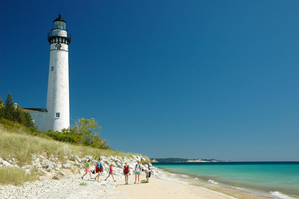 Five Traverse City Lighthouses Traversecity Mi