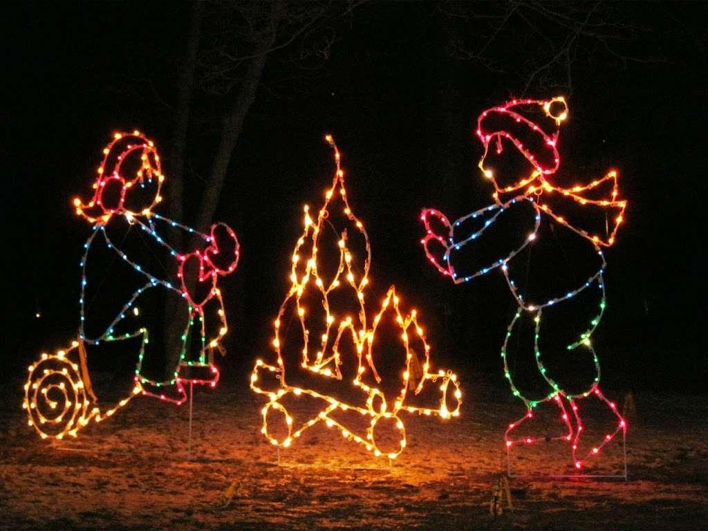 Holiday Lights Festival in Asheville