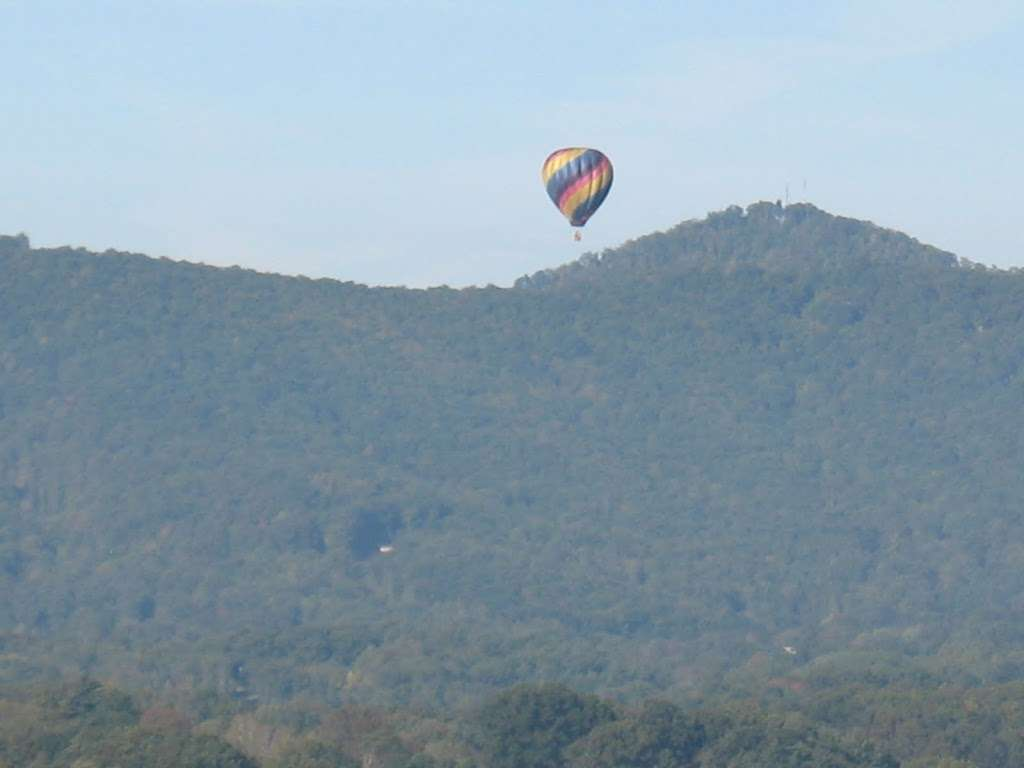 Hot Air Balloon Ride Over Asheville