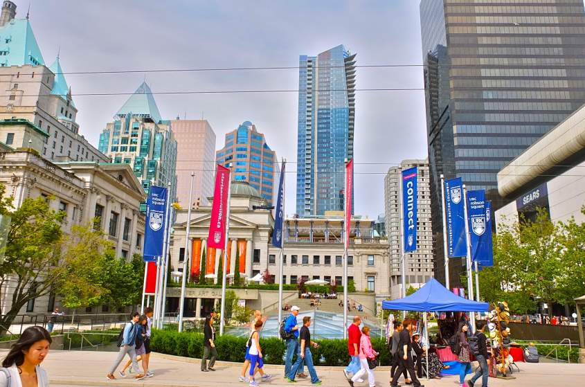 Sightseeing in Vancouver – Vancouver Tourist Attractions Map