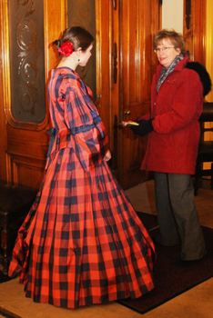 Fanny Tours at the Seward House Museum