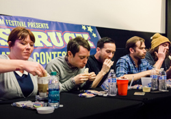 Elijah Wood Moon-Pie Eating Contest