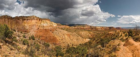 Ghost Ranch Canyon Panorama