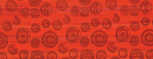 Medallion Patterned Fabric