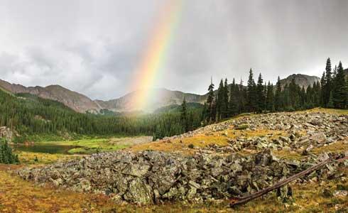 Williams Lake Rainbow