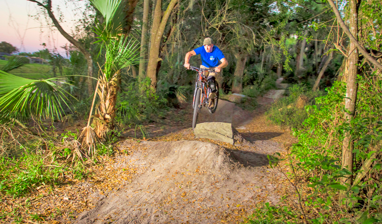 Bmx On Grapefruit Trails In Palm Bay Florida S Space Coast
