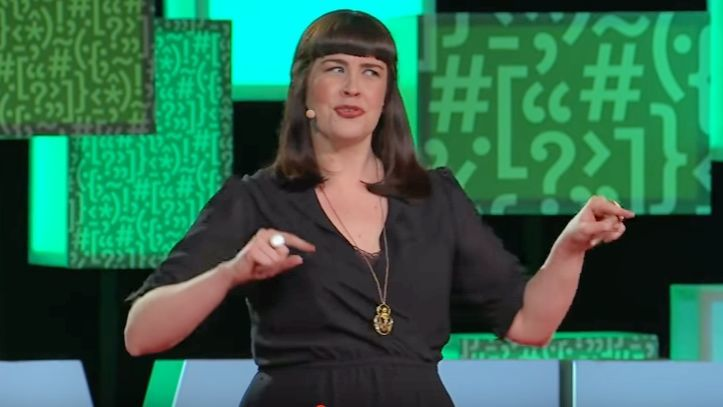 Mortician and funeral director Caitlin Doughty.