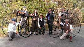 Penny Farthings will be on parade at the festival.