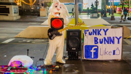 Most buskers approved by the local government are crap and provide noise pollution rather than entertainment, writes Subversive Sam.