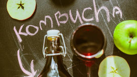 Kombucha's health benefits have been enjoyed since ancient times.