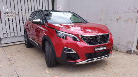 Cute in the automotive kind of way… the 2018 Peugeot 3008 GT.