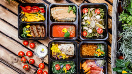 Pre-prepared meals can be a great and healthy time saver.