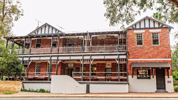 The historic Parkerville Tavern is starting to reveal its secrets.