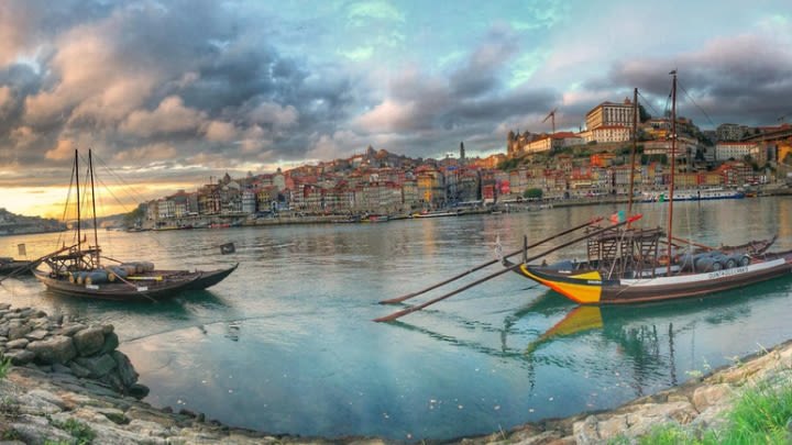 Porto, Portugal (Image uploaded to Reddit by u/drbdeck).
