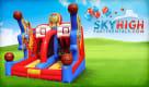 basketball inflatable game rental