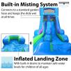 15ft Hawaiian Retro Water SlideMisting System