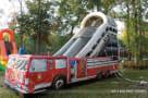 fire truck slide side