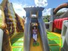 Big Dinosaur Land Playzone Bounce House Combo