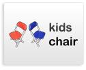kids folding chair rental