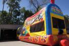Inflatable Train Mickey Slide