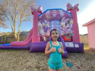 Minnie Mouse Girls Theme Bounce House