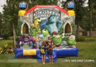 Front Monsters University bouncer