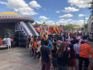 Inflatable Games at Carnival Event