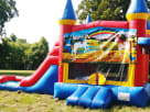 Unicorn 3in1 Obstacle with Slide