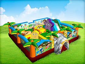 Inflatable Dora the Explorer bounce house