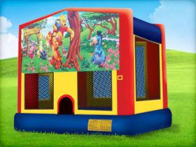 15 x 15 Winnie the Pooh Bounce House