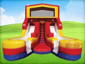 16ft Double Splash (Wet/Dry) Slide