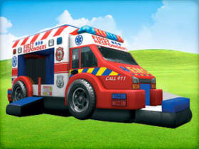 First Responders Bounce House for rent