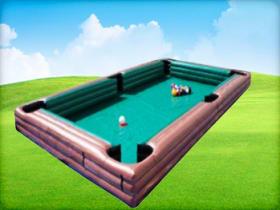Human Billiard Pool Table