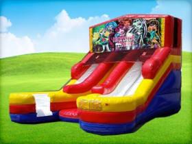 16ft Double Lane Monster High (Wet/Dry) Slide