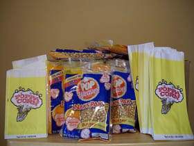 popcorn supplies for 50 people