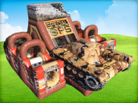 Inflatable Military Special Ops Tank Obstacle Course